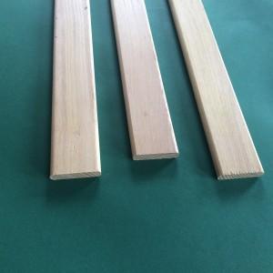 drewno liściaste, krawędzie - 2 x promień 5 mm