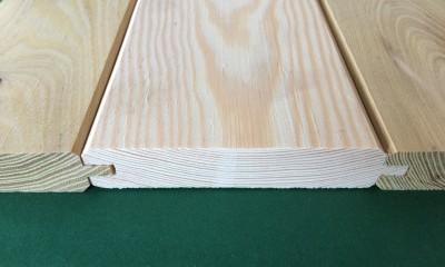 boazeria o grubości 22 mm z długim piórem