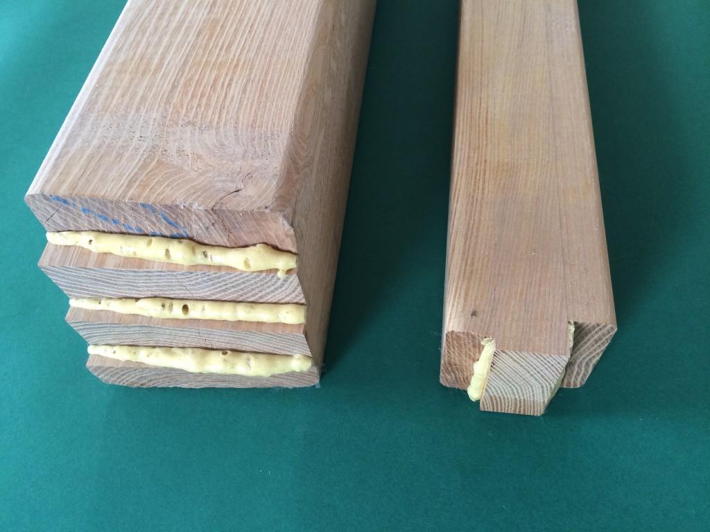 klejenie drewna liściastego