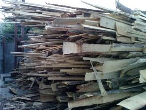 drewno mokre