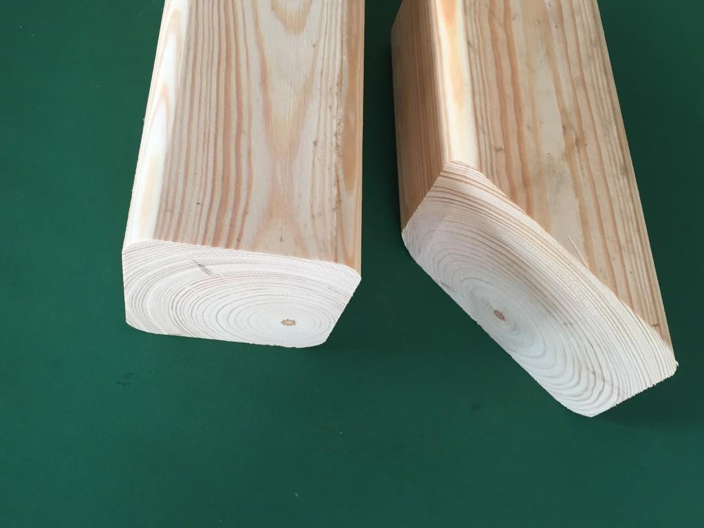 precyzyjne docięte drewno