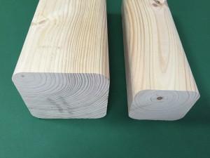 drewno strugane 100*100 i 75*75 mm