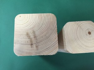 bardzo duże zaokrąglenia - promień 15 mm
