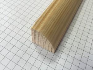 ćwierćwałek wypukły 20 * 20 mm