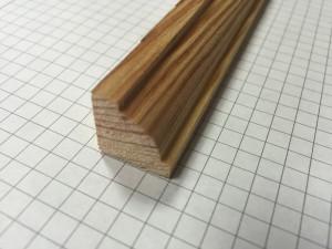 ćwierćwałek ozdobny 16 * 16 mm