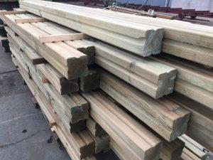 drewno profilowane, impregnowane