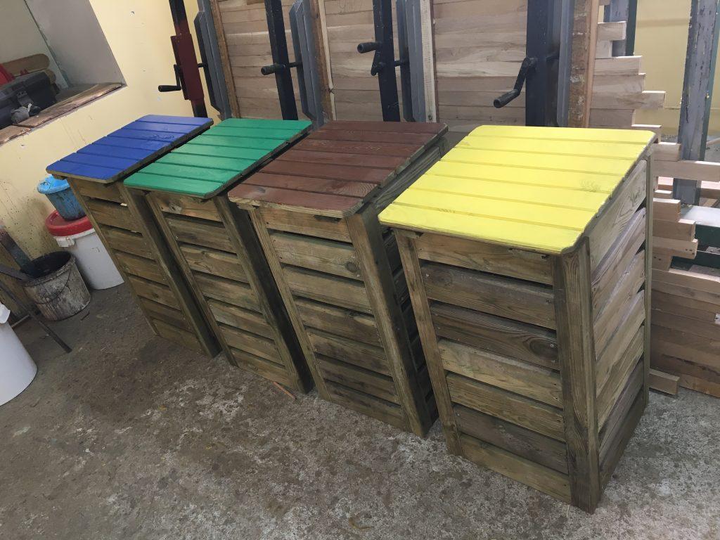 zestaw do sortownia śmieci